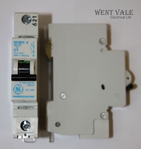 GE Series G - 1a Type C Single Pole MCB Used